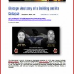 Chicago: Anatomy of a Building and its Collapse PDF Training Aid