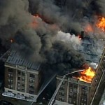 Four Story Apartment Building, Five Alarm Fire Philadelphia
