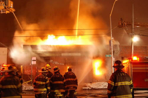 Fdny Eight Alarm Fire In Queens Commercial Building With