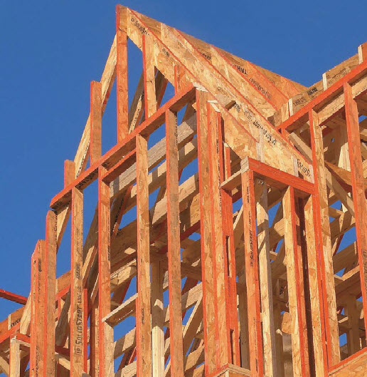 what is lightweight wood construction