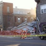 Theater Undergoing Deconstruction Collapses in Millville, New Jersey