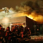 FDNY Eight Alarm Fire in Queens Commercial Building with Collapse