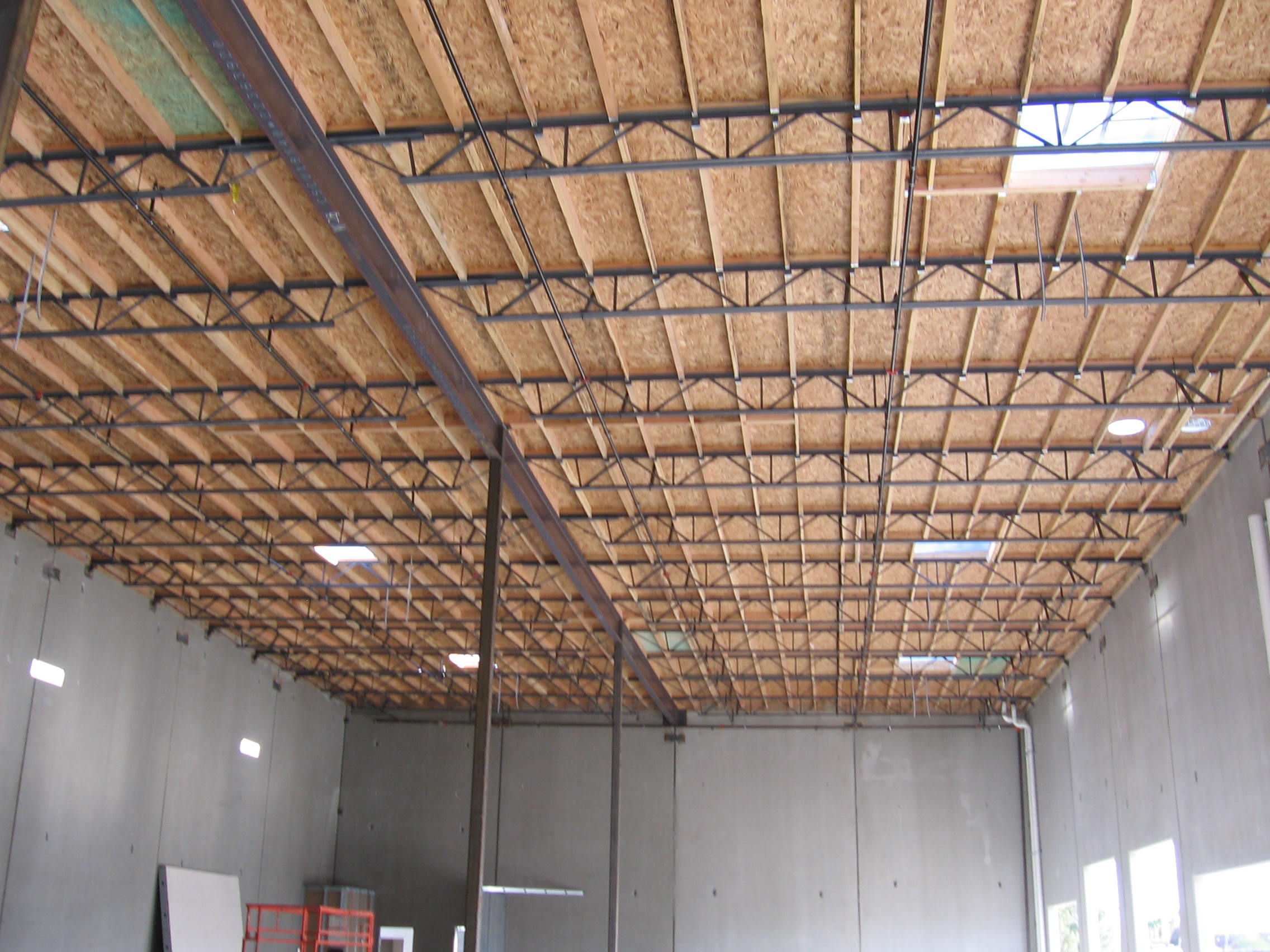 Panelized roof dangers for firefighters for Panelized building systems